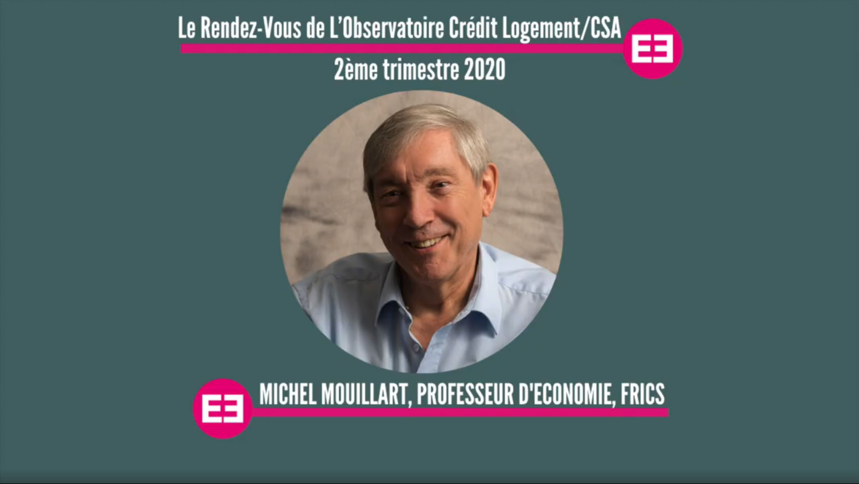 Interview Podcast Michel Mouillart - 2ème trimestre 2020